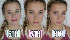 middle makeup tutorial 6th 7th and 8th grade