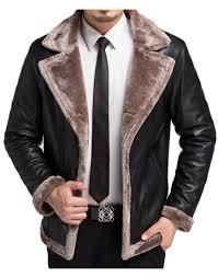 faux fur shearling jacket
