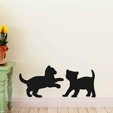 cat wall art stickers