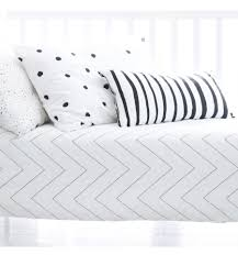 zigzag toddler duvet cover