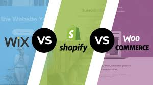 Wix Vs Shopify Wix Vs Shopify Vs Woocommerce Top Ecommerce Platforms In 2019 Youtube