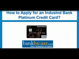 how to apply for an indusind bank