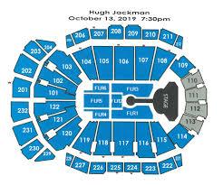 Capital Center Seating Chart Sprint Center Concert Capacity