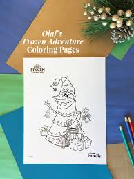 All gathered in one place on a beautiful selection of free frozen coloring pages for girls and boys. Olaf S Frozen Adventure Coloring Pages Disney Family