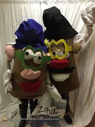 mr and mrs potato head couple costume