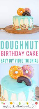 Easy Diy Birthday Cake Ideas For Children Video Tutorials