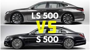 2018 Lexus LS 500 vs Mercedes S500 - YouTube