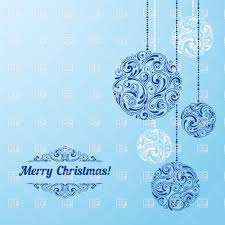 hanging christmas ornaments background. Fine Christmas Hanging Ornament Christmas Balls On Blue Background Vector Image U2013  Artwork Of Backgrounds Textures Click To Zoom To Christmas Ornaments Background