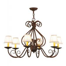 meyda tiffany jenna 6 light fabric shades chandelier chandeliers hampton bay barcelona 6 light chandelier