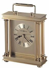 howard miller audra 645 584 brass desk clock