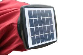 solar powered umbrella