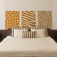 wall stickers bed headboard africa