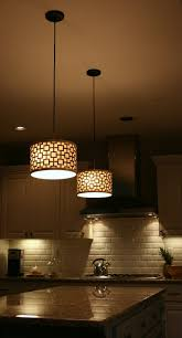 modern contemporary decorating kitchen island lighting. Chandelier For Kitchen Island : Lighting Design With Drum Pendant  Lamps Combine Brown Modern Contemporary Decorating Kitchen Island Lighting D