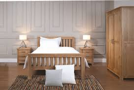 Oak Fitted Bedroom Furniture Sets With Exceptional Lighting
