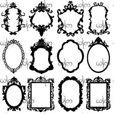 tattoo frame clipart 1