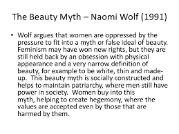 The Beauty Myth Quotes Best Of Feminism Theory