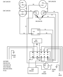 weg motor wiring diagram single phase solidfonts single phase electric motor wiring diagrams nilza net