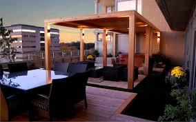 rooftop lighting. Rooftop Terrace Lighting