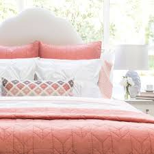 The Chevron Coral Quilt & Sham | Bedding decor, Canopy and Duvet & Bedroom inspiration and bedding decor | The Chevron Coral Quilt & Sham  Duvet Cover | Crane Adamdwight.com