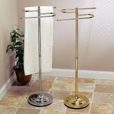 Floor Towel Stand Free Standing Racks H Brint Co Within Hand Rack