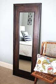 tall standing mirrors. Tall Body Mirror Wall Design Full Length Standing Mirrors Best