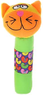 <b>Bondibon</b> Мягкая игрушка-<b>погремушка</b>-<b>пищалка Кот</b> 16,5 см