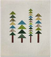 Quilt Inspiration: Free pattern day: Christmas quilts (part 1): Trees! & Alchemy Tree quilt, 56 x 76