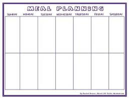 The 25 Best Meal Planning Chart Ideas On Pinterest Nutrition