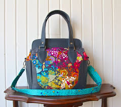 Handbag Patterns Impressive Hardware Kit The Aster Handbag By Blue Calla Patterns 48