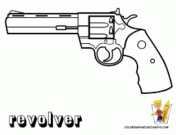 Gun Coloring Pages Outstanding Free Printable Nerf Pagesgun For Kids