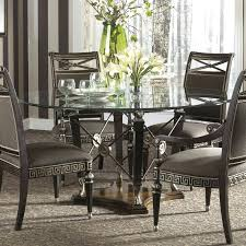round glass dining table for 6 glass round dining table set round glass dining table for