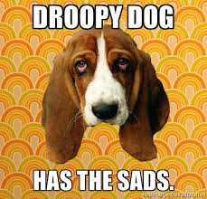 Droopy Dog Has the Sads. - SAD DOG | Meme Generator via Relatably.com