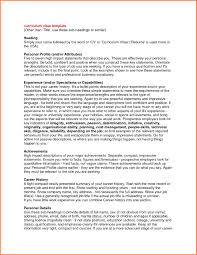 Resume Impact Statement Samples Business Impact Statement Template Resume Impact Statement Examples 3