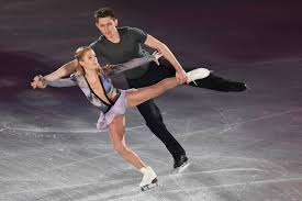 figure skater harley windsor makes history at the olympics time ekaterina alexandrovskaya and harley windsor of perform their routine in the gala exhibition during the