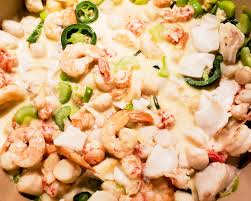 Keto Seafood Casserole - Shrimp and ...