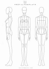 Body Template For Designing Clothes Body Template For Fashion Design 2423467361401 Fashion Designer