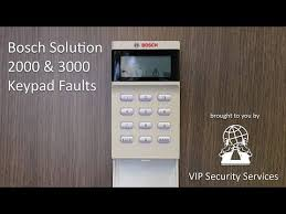 How To Clear Faults On Bosch Solution 2000 3000 Youtube