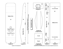 pinewood derby blank template. 39 Awesome Pinewood Derby Car Designs Templates Template Lab