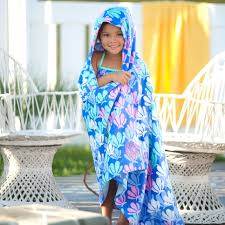 Bonds Image Beaujax Boutique Personalized Hooded Towel Mermaid Towel Beach Towel Kids Etsy