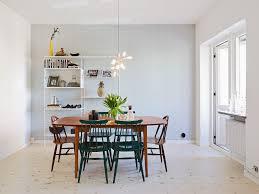 Interior:Chic Swedish Dining Room Interior Design With Beauty Pendnat Lamp  Idea Attractive Swedish Interiors