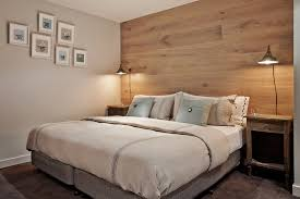 bedside lamps on wall
