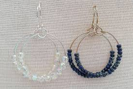Design Your Own Hoop Earrings Make Wire And Bead Hoops For Every Mood And Outfit