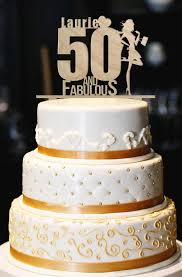 50th Birthday Cake Toppers Funny Cakes Pinterest Cupcake Picks 12