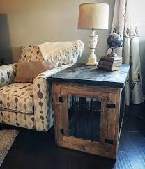 amazing 25 unique dog crate end table ideas on metal dog dog cage dog kennel end table prepare