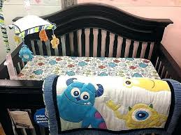 baby monster crib bedding monsters inc set little