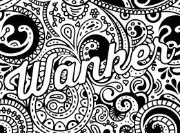 Free Printable Coloring Pages For Adults Only Swear Words Swear Word