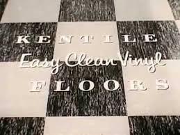 vintage old 1950 s easy clean kentile vinyl asbestos floor tile commercial