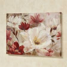 natures jewels canvas wall art multi warm on canvas floral wall art with natures jewels floral canvas wall art