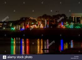 lights and displays at moody gardens in galveston