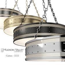 chandelier hudson valley gaines 2222 3d model max obj fbx unitypackage 1